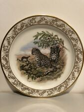 "Lenox Nature'S Nursery Snow Leopards 10 1/2"" Collectors Plate Lynn Chase"