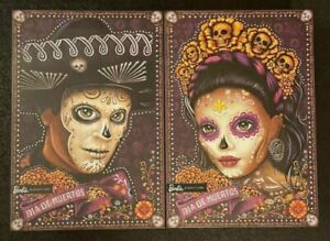 BARBIE AND KEN DIA DE LOS MUERTOS DOLL SET 2021 DAY OF THE DEAD IN HAND!