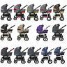 TOMAS Kinderwagen 3in1 ,Babyschale, Schwenkräder, Viel Zubehör, Megaset