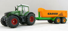Siku 1989 - Fendt 936 Vario Tractor with Tandem Hook Lift Trailer - Scale 1:50