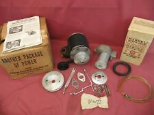 NOS Vintage Speed Judson Supercharger VW II 40hp Kit