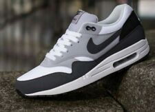 NIKE AIR MAX 1 WOLF GREY WHITE BLACK UK SIZE 11 US 12 EU 46 BNIB VERY RARE