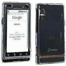AMZER SNAP ON CRYSTAL HARD CASE FOR MOTOROLA MILESTONE A854/DROID A855 - CLEAR