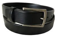 NWOT Men's Black Genuine Leather Belt Size 38/95