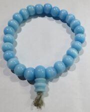 Komboloi bleu ciel – verre teinté – sur élastique –