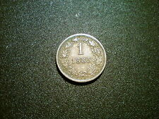 1885 Austria 1 Kreuzer Coin. ottime qualità EF +