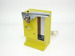Vntg WARING Mustard Yellow Gold Retro Electric Can Opener 11CN10 Farmhouse MCM