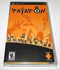 Patapon PSP Portable Brand New Sealed! Black Label Version