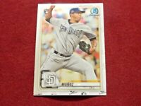 🔥2020 BOWMAN CHROME ANDRES MUNOZ RC #7 *SAN DIEGO PADRES*