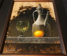 DAVID CHEIFETZ - Original Oil Painting SIGNED Listed Artist FRAMED Still Life