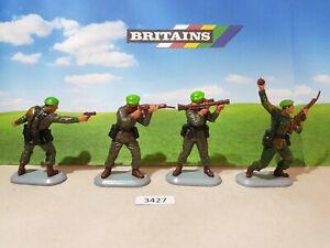Britains Super Deetail Modern British Royal Marines - Set of 4   (lot 3427)