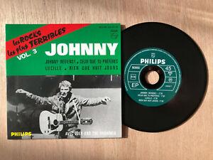 "JOHNNY HALLYDAY -  CD SINGLE PHILIPS 434.952 "" LES ROCKS LES PLUS "" EP NEUF VOL3"