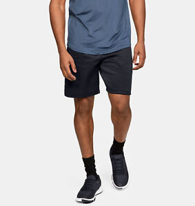 Under Armour MK-1 Warm-Up Shorts Men's Black Pitch Gray Sportswear Activewear