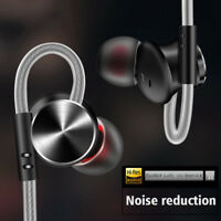 3.5mm HIFI Super Bass Headset In-Ear Earphone Stereo Earbuds Headphone Wired+Mic