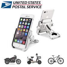Aluminum Motorcycle Bike Handlebar Mount 360° Holder For GPS Mobile Cell Phone