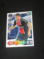 MENEZ  PSG PARIS SAINT GERMAIN Trading card carte ADRENALYN PANINI 2011-2012
