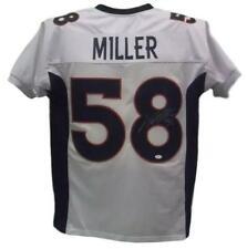 Von Miller Autographed/Signed Denver Broncos White XL Jersey JSA 12404