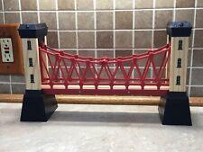 "Thomas the Train Wood Track Suspension Bridge Lights 15"""