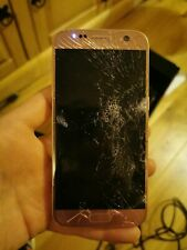 Samsung galaxy S7 32GB Silver. Screen smashed . ForSpares or Repair