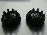 Lego 2 roues noires set 8994 8959 9457 8964 / 2 black wheels