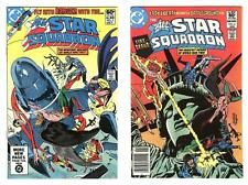 ALL-STAR SQUADRON 2 AND 5  VF/NM (9.0) FREE SHIPPING *
