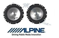 ALPINE COPPIA WOOFER 165mm CASSE DEL KIT SXE-1750S ALTOPARLANTI AUTO