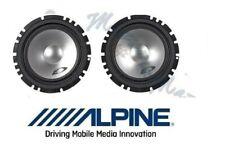 Alpine Par Woofer 165mm Arcas la Set SXE-1750S Altavoces Coche