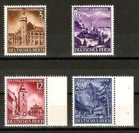 DR Nazi 3rd Reich Rare WW2 Stamp Set Castles Hitler's Occupation Transilvaniya S