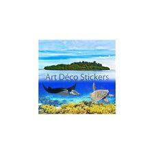 Sticker mural géant Raie et Tortue 260x270cm P122 398746891DCE
