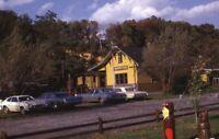 Railroad Steam DEADWOOD FLATS Station Bloomsburg Original 1972 Photo Slide
