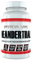 Primeval Labs Neanderthal 120 Caps Testosterone Booster primavar test FREE POST