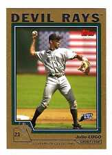 2004 Topps Gold Parallel Insert Set Lot (268 Different) - Pick Any 1