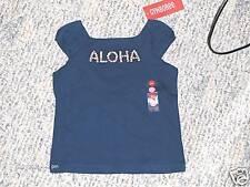 "NWT- Gymboree ""Beach Shack"" SS blue Aloha top - 18 mos"