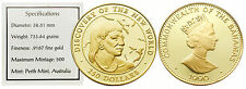 Bahamas 1990 Discovery of New World (Indian) $250 Gold Proof Coin