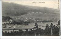 Tabarz Thüringer Wald Postkarte ~1910 alte AK gelaufen Gesamtansicht Totale