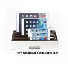 Multi Device Charging Docking Station Cable Organizer Tablets iPhones Samsung
