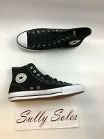 ,,Converse Chuck Taylor All Star Pro Black White Suede High Top Shoes Multi Size