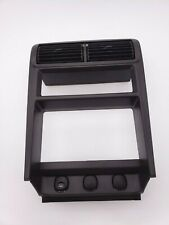 Ford Mustang 99,00,01,02,03,04 Center Console Radio Bezel Assembly Gray-Used