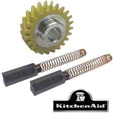 Lot KITCHENAID W10112253 W10260958x2 pignon + 2 Charbons robot artisan Classic