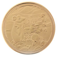 2020 Lucky Year of the Rat Commemorative Coin Collection Coins Good FortuneFFB