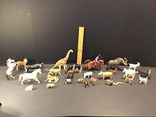 SCHLEICH Lot Farm Animals Horses Dinosaur Knight Pegasus Snake Variety Of Figure