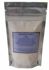 Rennet Powder - 40g re-sealable pouch. Suitable for vegetarians.