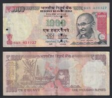New listing India 1000 Rupees 2014 Bb / Vf C-05
