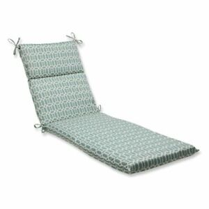Pillow Perfect Outdoor/Indoor Rhodes Quartz Chaise Lounge Cushion 72.5 in. L ...