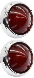 539 Lamp Red Stop/Tail (PAIR)