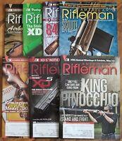 7 American Rifleman Magazine Lot NRA Gun Firearms 2008 2013 S