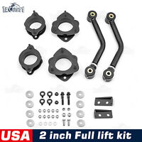 "For 07-17 Jeep Compass Patriot MK Front & Rear 2"" Lift Kit + Sway Bar End link"