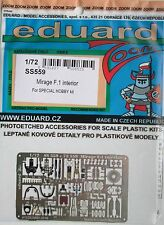 Eduard 1/72 SS559 Colour Zoom etch for Special Hobby Mirage F.1 kit