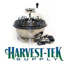 "Harvest-Tek Supply 16"" Pro-Cut Motorized Bowl Trimmer W/ Clear Top Pro Spin Cut"