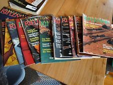 American Rifleman Magazine 1989 (Except May) Guns Military Bullets Shotgun